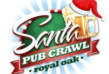 Santa Hat Pub Crawl - Royal Oak / Join Us Saturday, December 13th for the Santa Hat Pub Crawl! Support the Boys & Girls Club by Strolling through downtown Royal Oak, dressed in your favorite Santa apparel, sampling beer & liquor at various bars!  For More Information, Check Out http://santaconroyaloak.com/ and http://thesocialconnection.com/