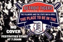Party Bus - Detroit Tigers Games / Join the Social Connection on April 6th for the Detroit Tigers Opening Day Game on our famous Party Buses   www.TheDetroitPartyBus.com