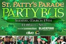 St. Patty's Parade Party Bus / Join the Social Connection the famous St. Patty's Parade Party Bus.  For More Information, Check Out http://www.stpattyspartybus.com/ and http://thesocialconnection.com/