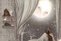 Fairy, Moon, Stars and Fanthasy World / by Lenka Kynclová