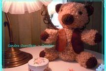 Mi Osito Teddy   <3 / Encontrando la lana (estambre) adecuada, podemos hacer preciosos trabajos.
