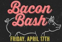 Bacon Bash / A special celebration of all things covered, wrapped, and seasoned with bacon all under one roof at Bacon Bash at the Royal Oak Farmers Market.