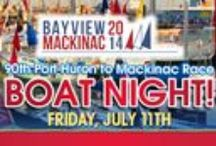 Boat Night / Boat Night Party on the Eve of Port Huron to Mackinac Boat Races