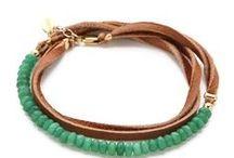 Leather Jewelery & Earrings / by Evangelia Panagiotou