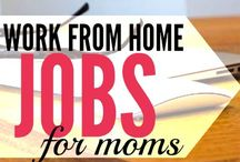 Work From Home / Work at home ideas + ways to make extra money from the comfort of home.