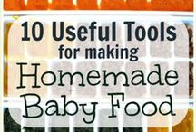 Baby Food (Baby Led Weaning) / baby food, first foods, recipes for baby food, purees, baby led weaning, first foods, cooking for babies