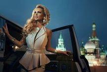 Provocative & Luxury Woman / Dress - casual ... Luxury...scenery