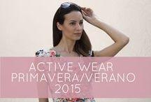 MASSANA Active Wear W '15 / Nueva colección Activewear Mujer Primavera/Verano 2015