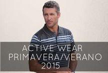 MASSANA Active Wear M '15 / Nueva colección Activewear Hombre Primavera/Verano 2015