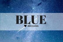 MASSANA Blue / Feeling a little blue
