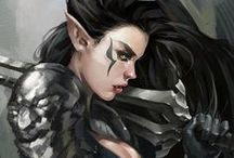 DA: I // Thalia Lavellan / Hugs, bruises and dares. I am.