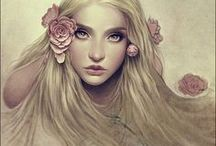 Skyrim // Vivea Aldarin / Wisdom, rage and the rose garden. I dream.