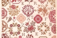 Needlework / Various types of needlework that interest me including but not limited to - embroidery, tapestry work, plain sewing, mending, gold embroidery and appliqué  / by Kathryn Masterson