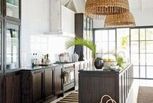Kitchen and Bath / Open concept kitchens and guest bathrooms/ powder rooms / by Jessica Poper
