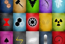 Geekery / Some avengers. Some Harry potter. Pretty much a mish mash of awesome