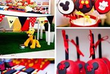 Mickey Mouse Birthday Party! / by Debby- Little Miss Copycat