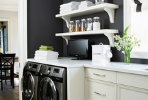 laundry room / by Lauren Papageorge