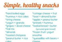 Healthy Snacks / by Melanie Baudoin