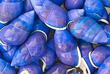 color - P E R I W I N K L E / What a stunning color! / by Bonnie Short