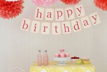 ☆ PARTY ☆ / baby shower, anniversary, birthday & co