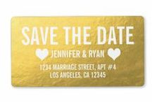 {SAVE THE DATES} / Customizable Wedding Save the Dates by the Antique Chandelier