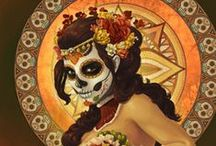 Day of the Dead and Skull Art / by Nina Koontz