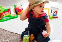 First Birthday Barnyard Bash / Celebrate your baby's first birthday with a farm-themed barnyard bash! Be inspired with fun, colorful party decor tips and DIY tutorials from renowned designer and party stylists, Jennifer Sbranti, owner of Hostess with the Mostess! / by Fisher-Price