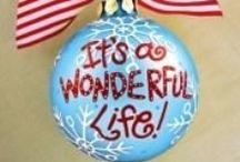 Christmas Tree Ornaments / Christmas Tree Ornaments / by Rebecca