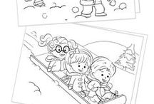 Coloring Pages & Printables for Kids / Free, festive and fun coloring pages and printables for kids.