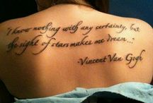 Word/quote Tattoos / by Kristy Yager