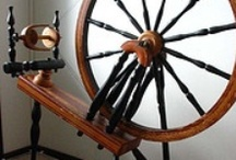 Spindles & spinning wheels