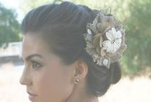 Bridesmaid Hair Pieces / Add a custom made hair piece for your bridesmaids
