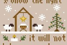 Christmas, New Year and Winter Cross Stitch/Embroidery Freebies