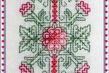 Assisi & Blackwork Embroidery Freebies