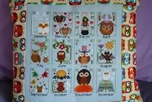 Owls - crafting, cross stitch, crochet, paper crafts and much more. / All sorts of crafting of Owls.  Some to make yourself or to buy.  Lots of cross stitch owl to stitch.  Felt work and toys.  Inspiration to make it or design it yourself.  Tutorials also included on some items.  Enjoy.