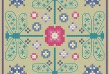 Biscornu Cross Stitch/Embroidery Freebies
