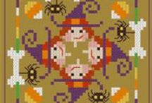 Halloween Cross Stitch and Needlepoint Freebies