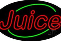 Juice Bar Neon Signs