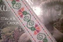 Bookmarks in Cross Stitch/Embroidery Freebies