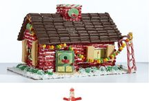 GingeRbreaD HouseS / Did your gingerbead house ever look as good as these? pin what you want, no limit!! / by Star Rainbow