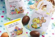 Easter Cross Stitch/Embroidery Freebies
