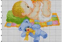 Baby Cross Stitch Freebies / Baby Cross Stitch designs for all occasions.