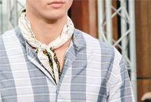 How To   Bandana / #youcancallmehitch #barneybarrett #minimalism #fashion #style #blackandwhite #bandana #streetstyle #malemodel #barney_barrett