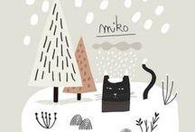 Let it snow & Jingle Bells / czyli zimowe, świąteczne, wzory, projekty, klimaty