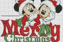 Cartoons - Micky & Minnie Mouse plus friends, Cross Stitch Freebies