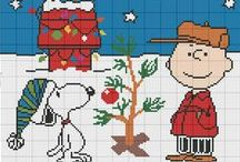 Cartoons - Snoopy & Friends, Cross Stitch Freebies