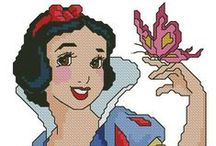 Cartoons - Snow White & the Seven Dwarfs, Cross Stitch Freebies