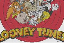 Cartoons - Looney Tunes - Bugs Bunny & Friends, Cross Stitch Freebies
