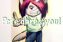 Da Pete contest / Pete dares ya to draw him! A special drawing by me, Wolf Lyly to win! x) !!!ENDS: 25th July!!!
