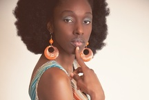 Afro Love / Proud African American female | Looking beautiful in her afro.